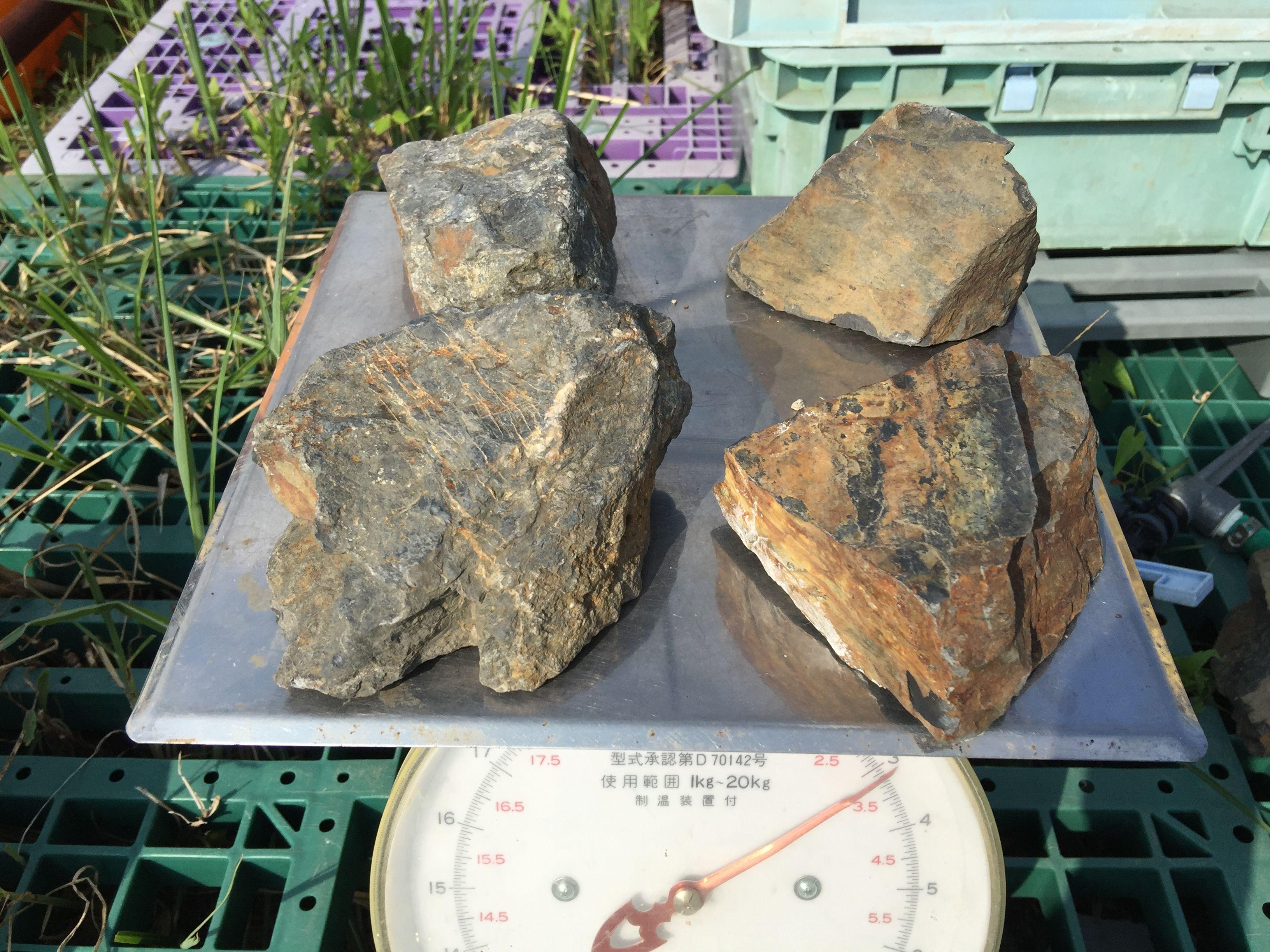閃ウラン鉱【重量】約3kg